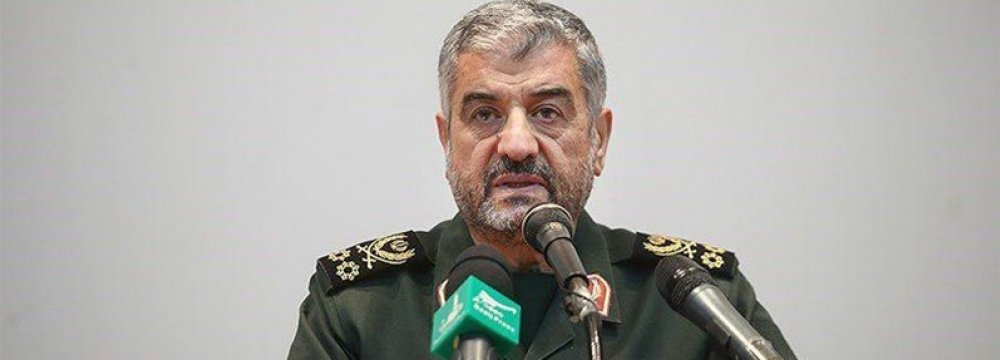 IRGC Chief Says No Time for Gov't Lassitude