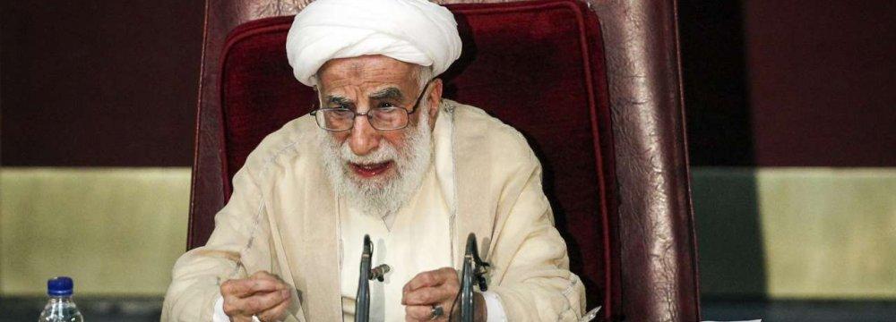 Ayatollah Jannati Reelected Experts Assembly Chairman