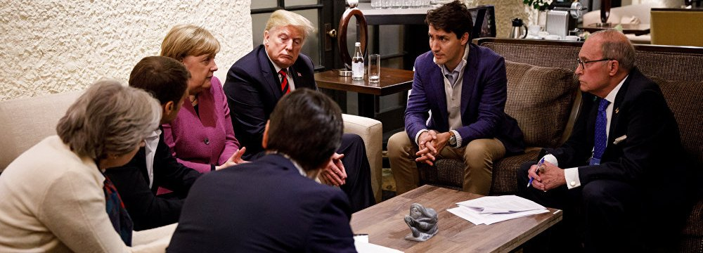 The trade spat between the US and Canada during a summit in Quebec earlier this month caused Germany and France  to sharply criticize Donald Trump's controversial decisions.