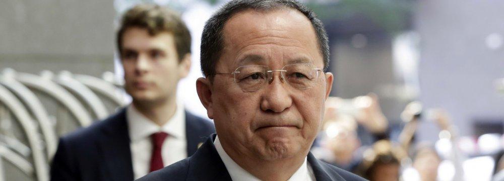 North Korea FM to Visit