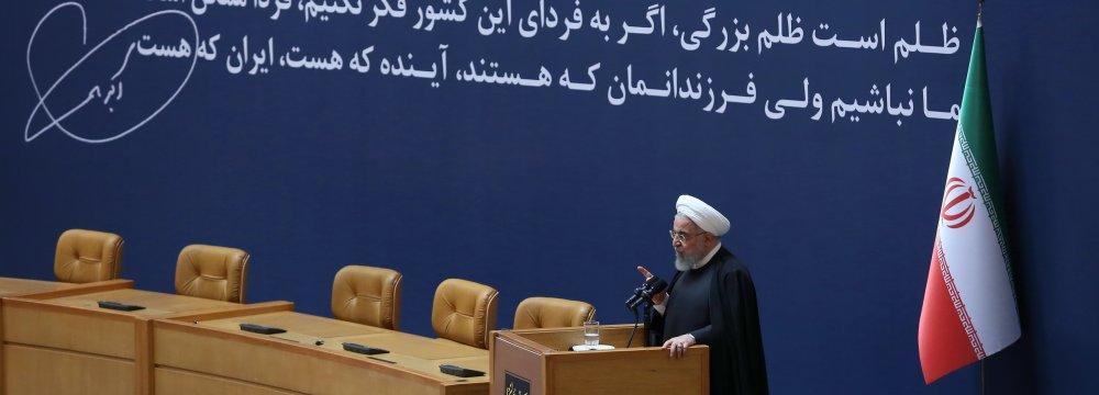Gov't Will Follow Ayatollah Rafsanjani's Path Toward Prosperity