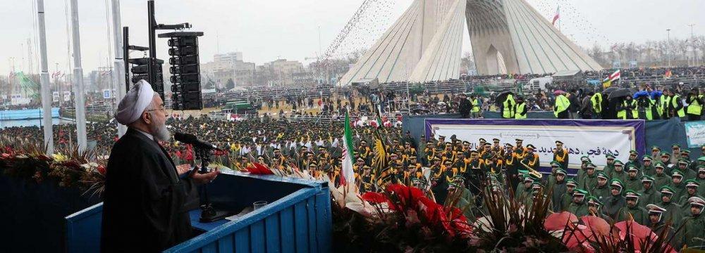 Iran Will Build Up Defense Despite US Objections
