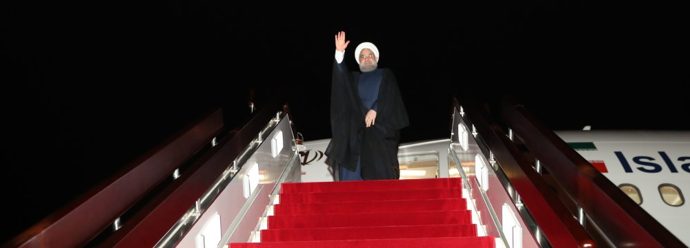 President Hassan Rouhani will visit Switzerland July 2-3 and then head to Vienna.