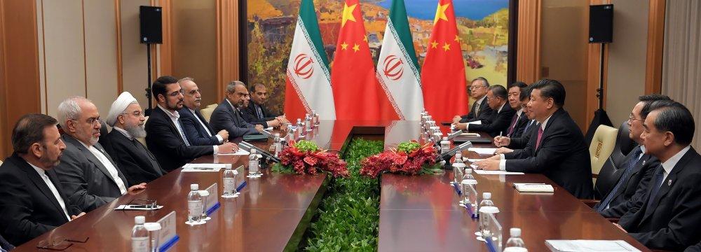 China, Iran Sign Economic, Anti-Drug Agreements