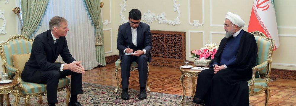 Iran Not After Tensions in International Waterways