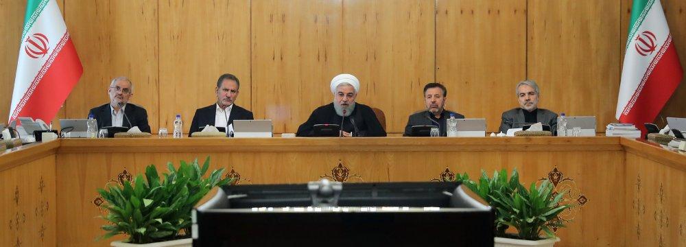 Iran Gov't Firm on Easing Economic Problems