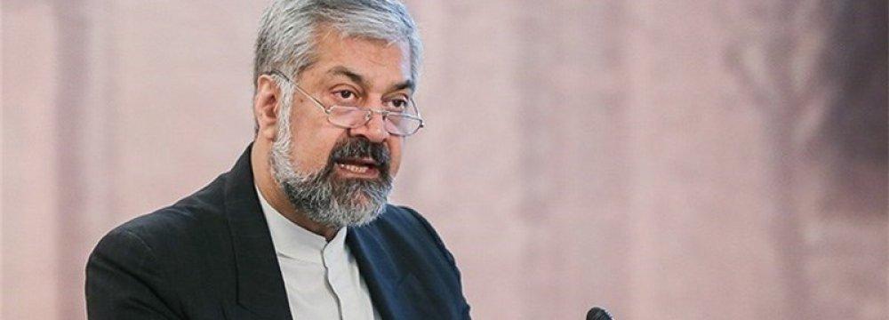 Iranian Deputy FM Pledges Aid to Ensure Afghan Security