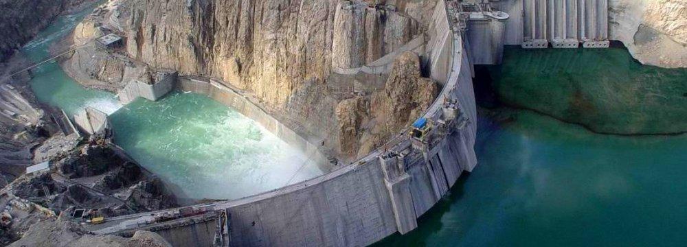 Karaj Dam Half Empty