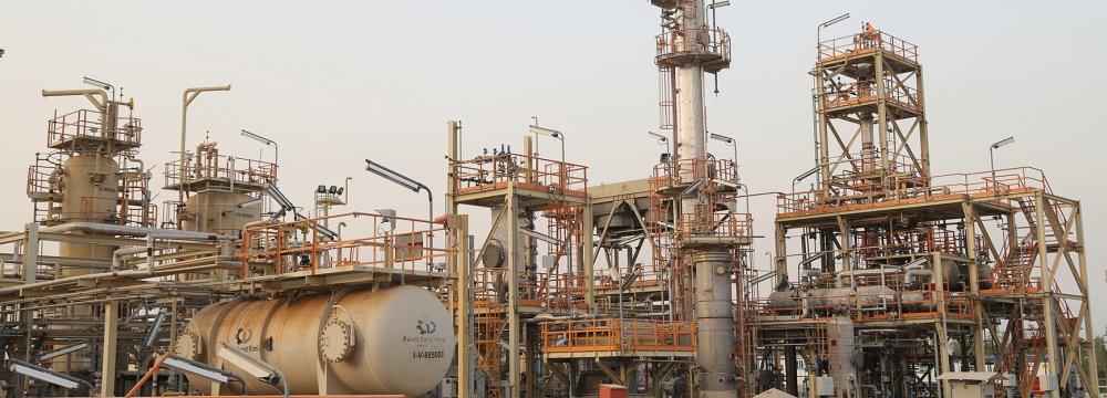 Work in Progress at Gasfield in West Iran