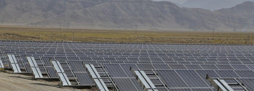 Solar to Add 60 MW to Hamedan Power