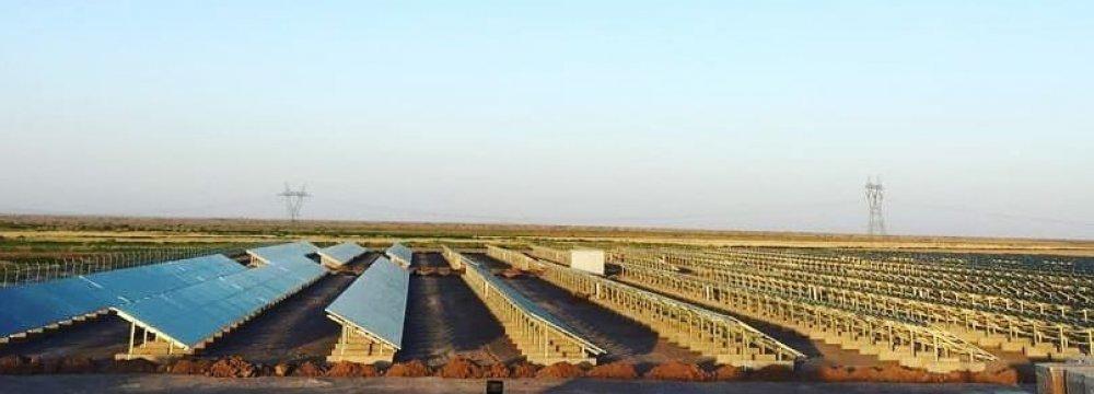 PV Station for Khorasan Razavi Province
