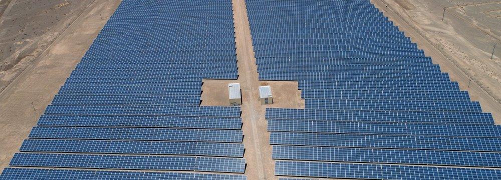 Yazd Solar Farm Supplying Power to 6,000 Households