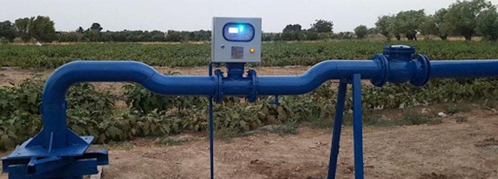 Smart Meters Help Cut Tehran Water Consumption in Agro Sector