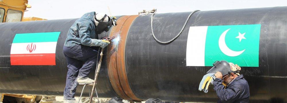 Pakistan Gov't Says Wants to Complete Iran-Pakistan Gas Pipeline