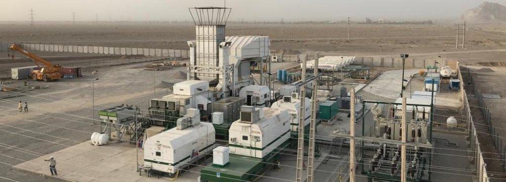 Mobile Power Plant for Sistan-Baluchestan Province