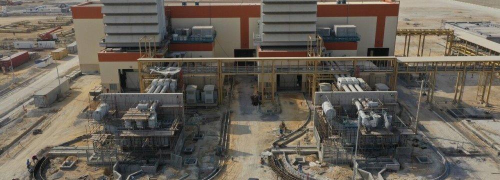 CCGT to Add 160 MW to Qeshm Power Production