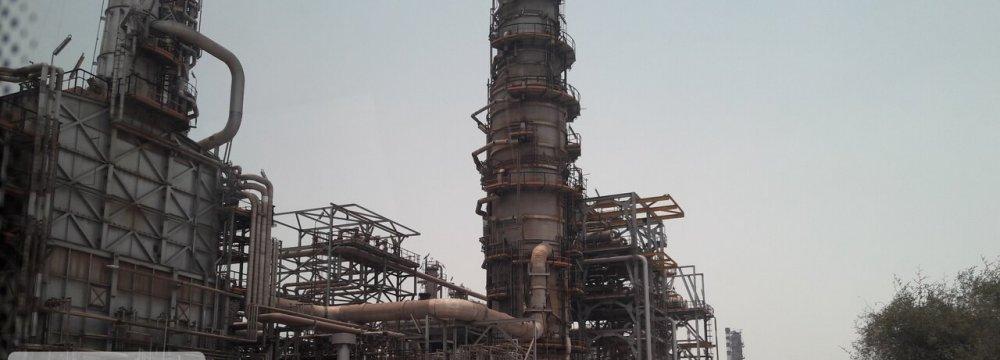 Shahroud Refinery Repaired