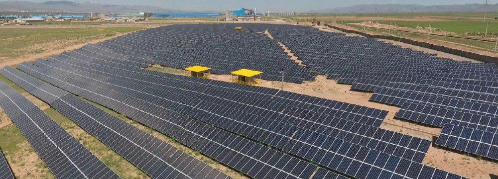 10 MW Solar Farm for County in Yazd