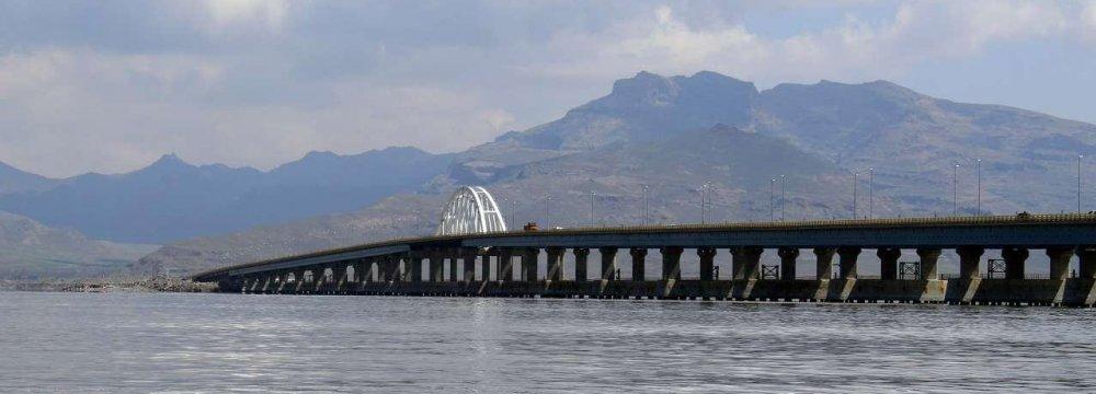 Restoration Helps Raise Lake Urmia Water Level
