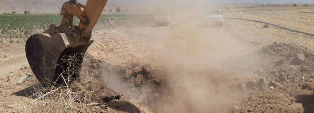 Renewed Action Against Tehran Illegal Water Wells
