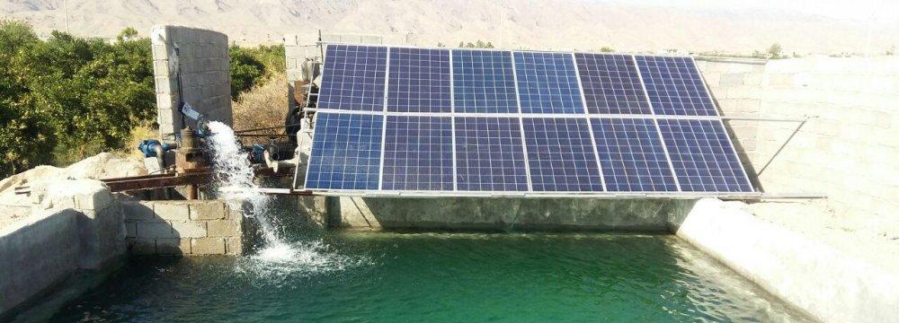 Solar Power for Agro Wells