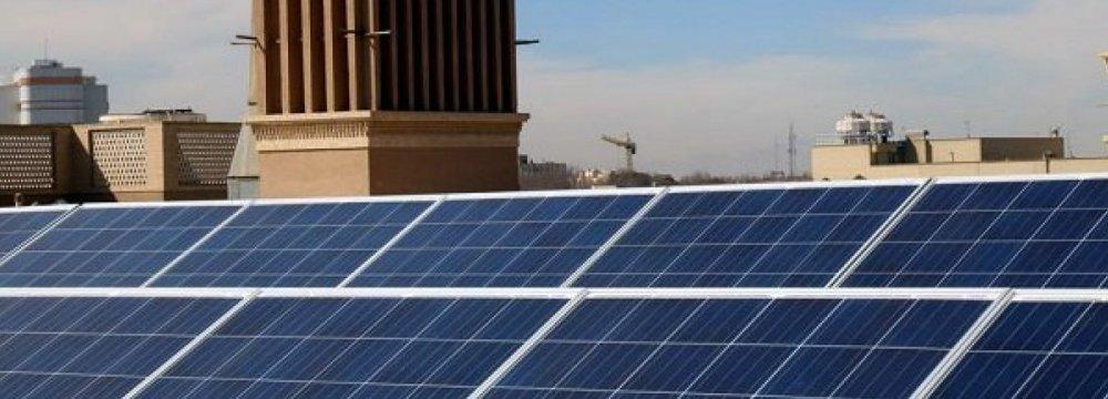 Solar Manufacturing Picks Up in Yazd