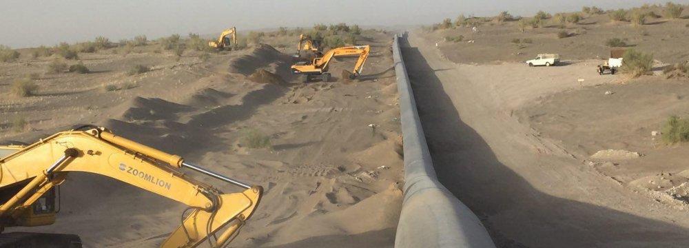Zahedan Gas Infrastructure Expanding