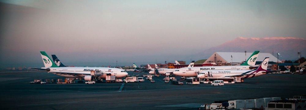 Iran's Air Transport Sector Capacity High