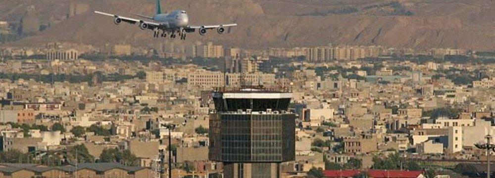 Decline in Iran's Airport Traffic