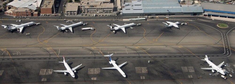 11% Decline in Iran's Q1 Airport Traffic
