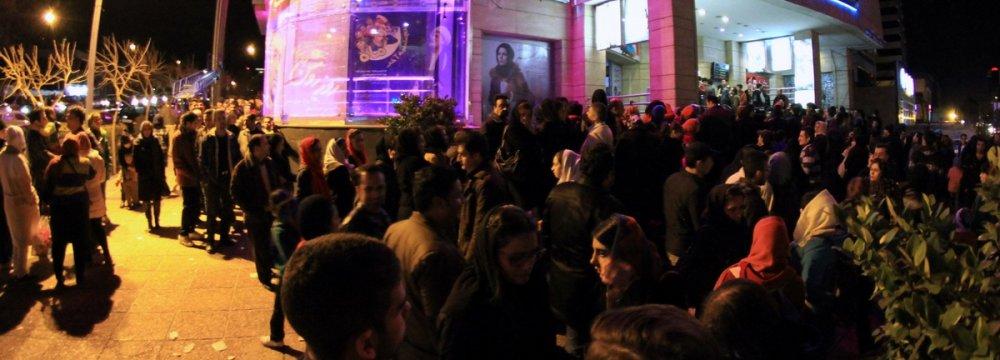 Iranian Cinemas Register 50% Growth in Sales