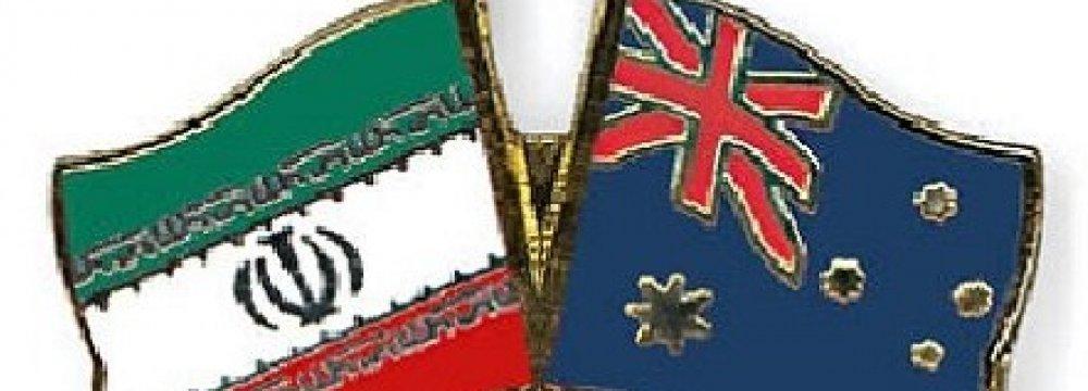 Tehran-Canberra Trade Tops $140m