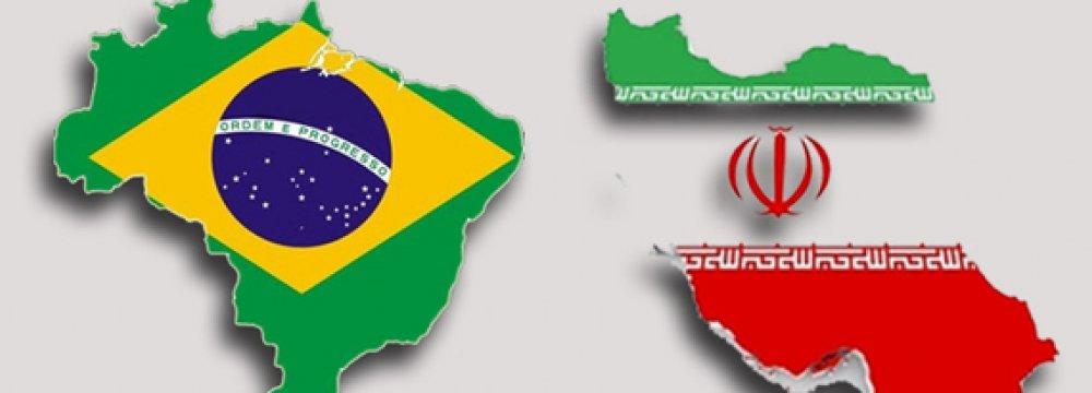 Non-Oil Trade With Brazil  Dips 46%