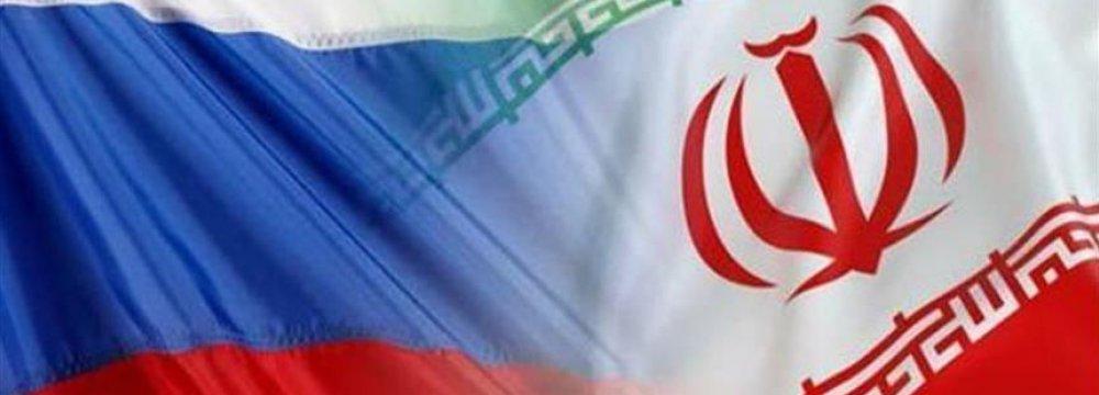 Iran-Russia Non-Oil Trade Tops $540m