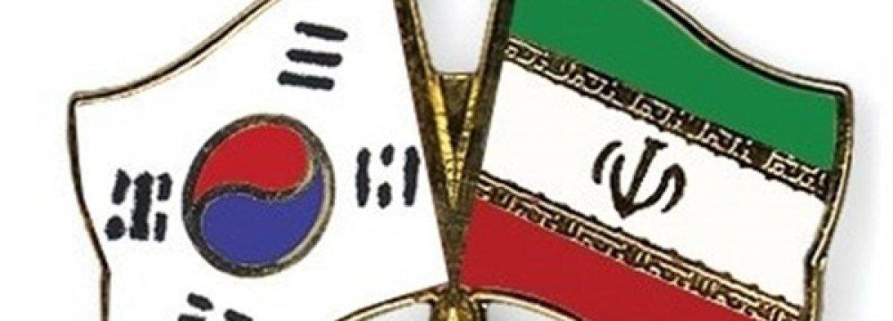 Tehran-Seoul Non-Oil Trade Tops $8b