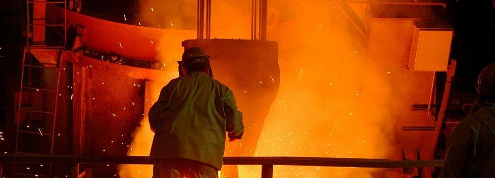 Iran Registers World's Third Highest Growth in Steel Output