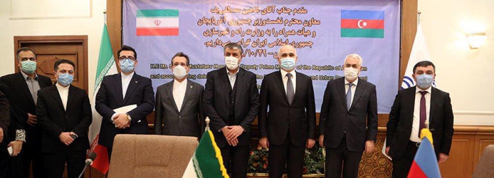 Iran-Azerbaijan Economic Commission Convenes in Tehran