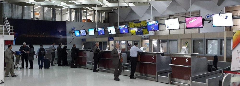 Iran Government's Departure Tax Revenues Rise 178%