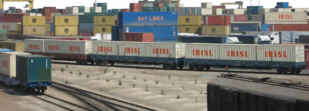 Rail-Port Maneuver Begins at Iran Largest Port