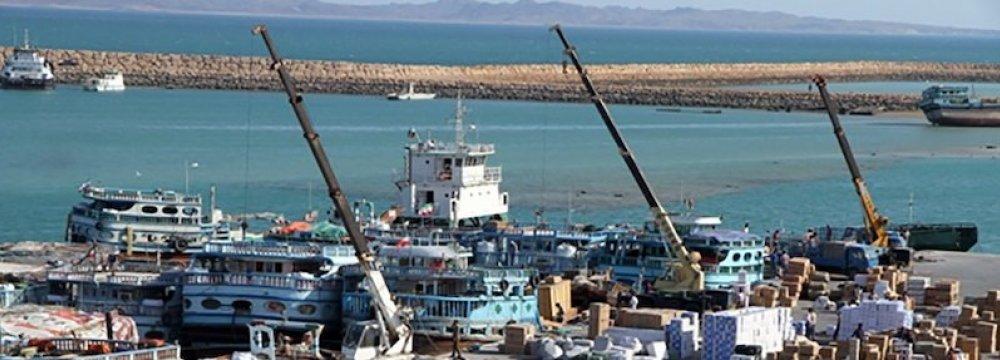 Qeshm Ports Throughput Grows 2.2%