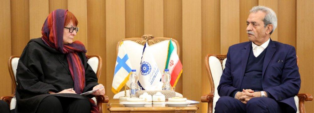 Iran Commerce Chamber Urges Speedy Implementation of SPV