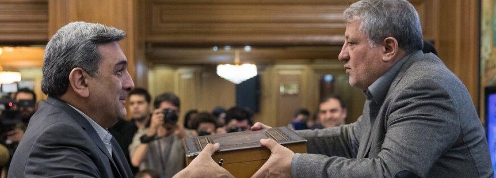 Tehran Mayor Submits Next Budget