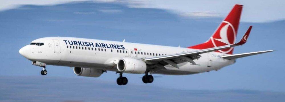 Turkish Airlines to Resume Istanbul-Mashhad Flights