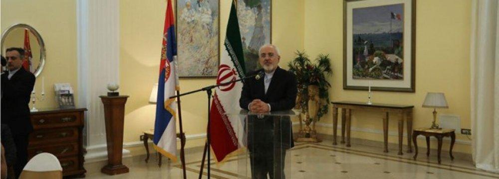Direct Tehran-Belgrade Flight as of Early March