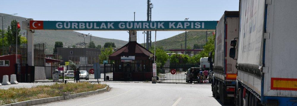 Iran's Trade With Turkey Down 77%