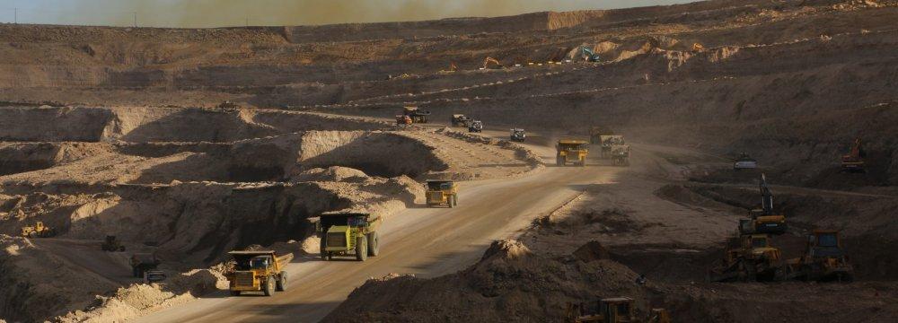 Mineral Exports Earn $6.6 Billion