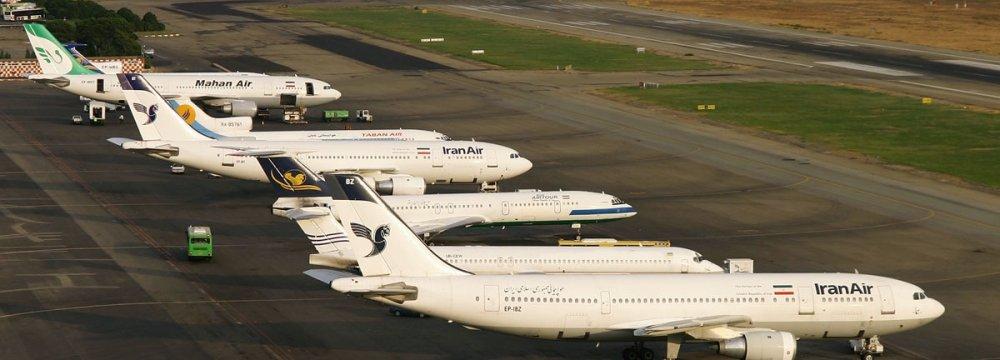 Iran Airport Traffic Down 14%