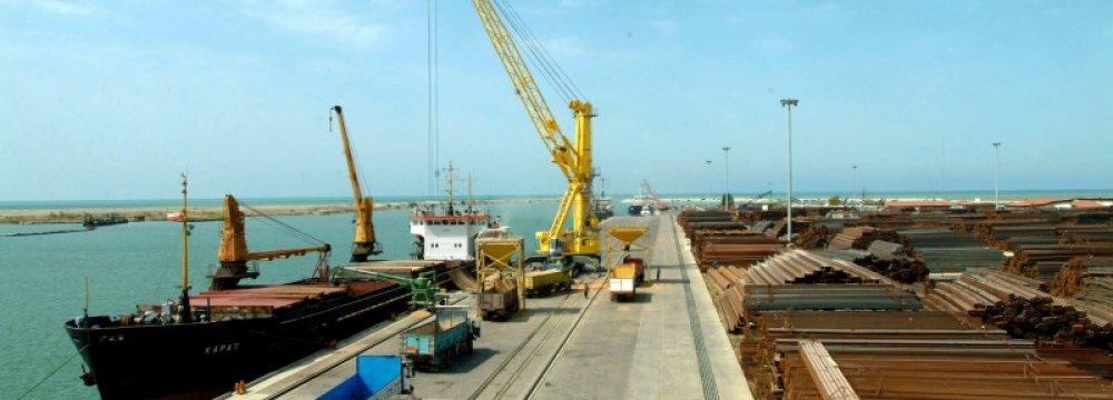 Amirabad Port's Ro-Ro Facility's Launch in September