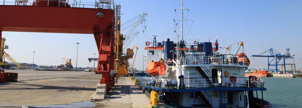 Decline in Mazandaran's Busiest Port Throughput