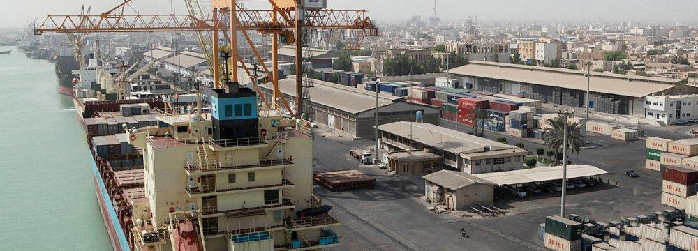 Bushehr Port Capacity at 7 Million Tons p.a.